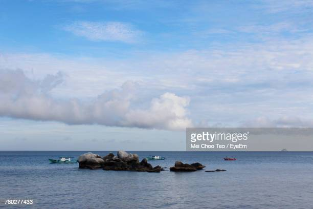 Scenic View Of Sea And Sky