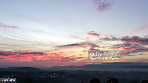 Scenic View Of Sky At Sunset