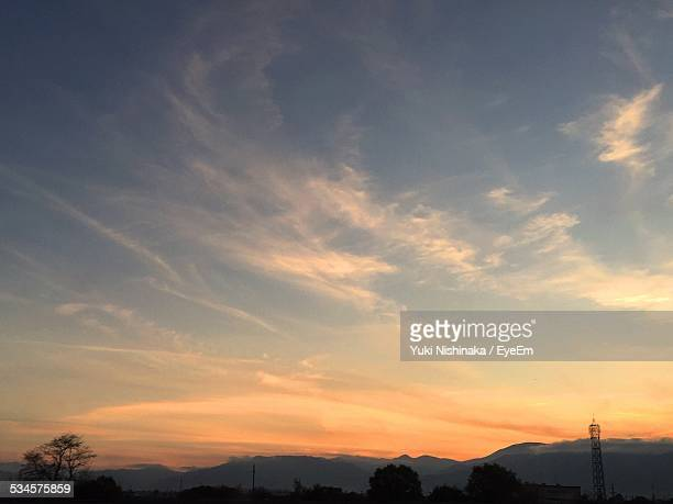 Scenic View Of Sky During Sunset