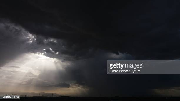 Scenic View Of Storm Clouds In Sky