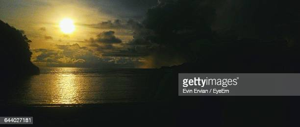 Scenic View Of Sunset