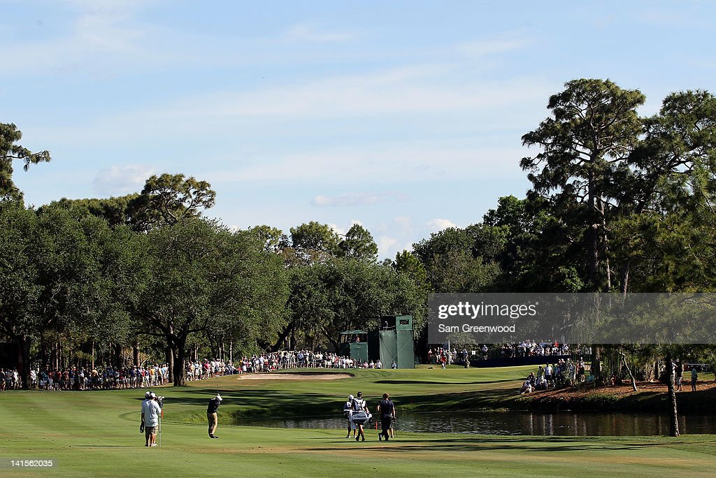 A scenic view of the 16th hole during the final round of the Transitions Championship at the Innisbrook Resort and Golf Club on March 18 2012 in Palm...