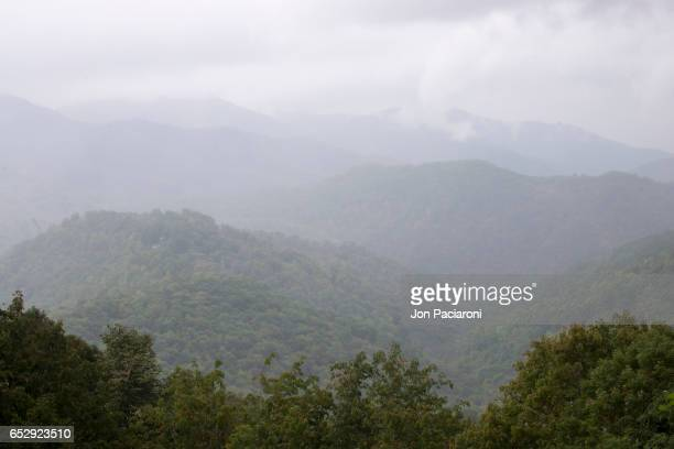 Scenic View of The Great Smoky Mountains National Park