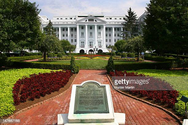 A scenic view of 'The Old White' at the Greenbrier during the first round of the Greenbrier Classic at the Old White TPC on July 5 2012 in White...
