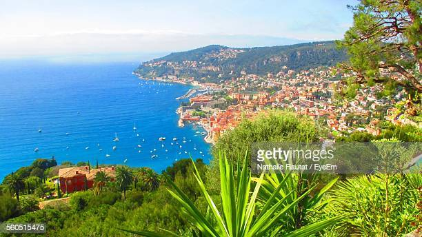 Scenic View Of Villefranche Sur Mer