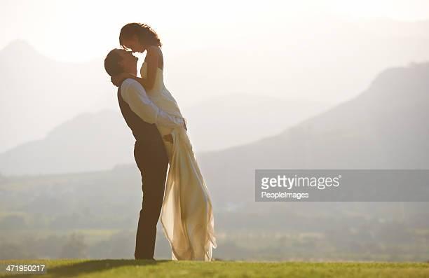 Scenic wedding
