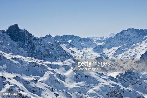 Scenics view of the Alps