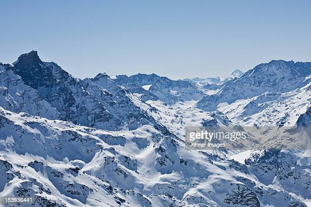 Scenics view of the Alps