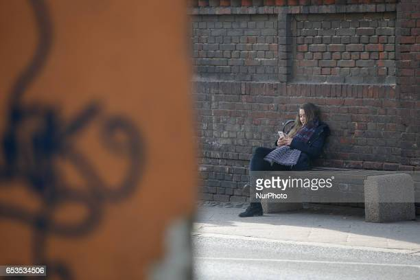 Scenses from daily life in Bydgoszcz Poland are seen on 14 March 2017
