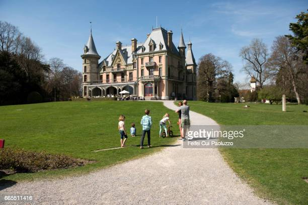 Schadau Castle of Thun, Canton Bern, Switzerland