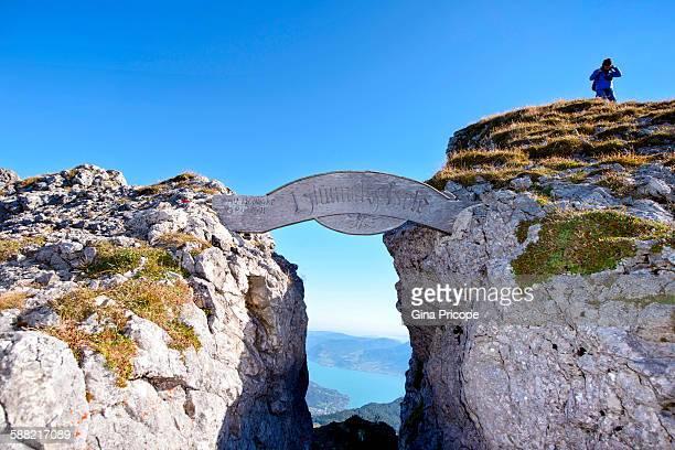 Schafbergspitze, start climbing location, Austria