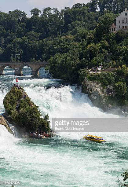 Schaffausen, the Rhine falls