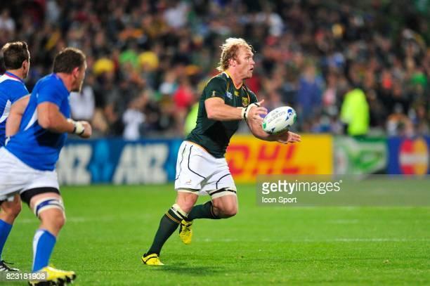 Schalk Burger Afrique du Sud / Namibie Coupe du Monde de Rugby 2011