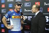 Schalk Burger of the Stormers during the Super Rugby Quarter Final match between the DHL Stormers and Chiefs at DHL Newlands on July 23 2016 in Cape...