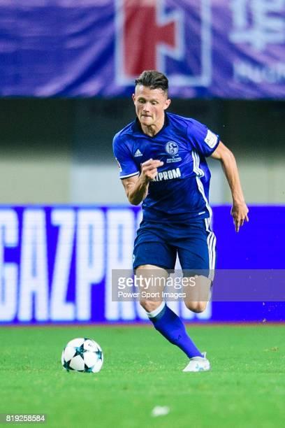 Schalke Forward Fabian Reese in action during the Friendly Football Matches Summer 2017 between FC Schalke 04 Vs Besiktas Istanbul at Zhuhai Sport...