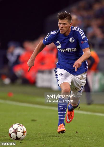 Schalke's Klaas Jan Huntelaar