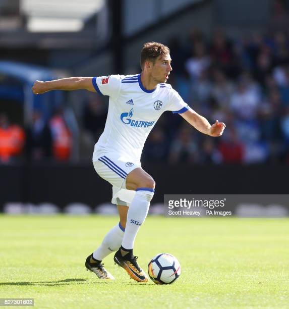 Schalke's Leon Goretzka during the preseason friendly match at Selhurst Park London