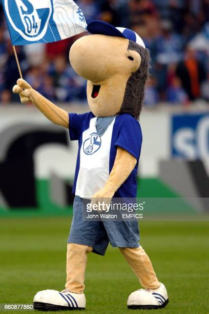 Schalke's mascot Erwin