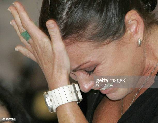 Schapelle Corby bursts in tears as she is sentenced to 20 years in jail in a Denpasar courtroom on Friday May 27 2005 in Denpasar on the resort...