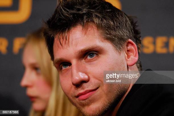 Schauspieler Hanno Koffler anlässlich des RadioEins Nighttalk am Rande der 58 Berlinale in Berlin