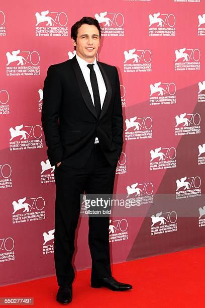 Schauspieler James Franco während des Photocalls zum Film PALO ALTO anlässlich der 70 Internationalen Filmfestspiele von Venedig