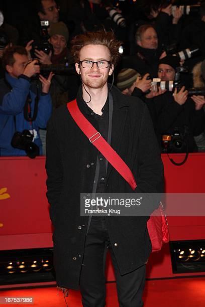 Schauspieler Mark Rendall Bei Der 'My One And Only' Premiere Im Berlinale Palast Bei Der 59 Berlinale In Berlin