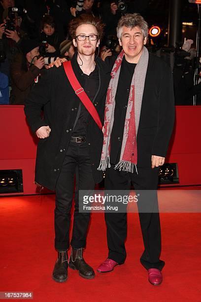 Schauspieler Mark Rendall Und Regisseur Richard Loncraine Bei Der 'My One And Only' Premiere Im Berlinale Palast Bei Der 59 Berlinale In Berlin
