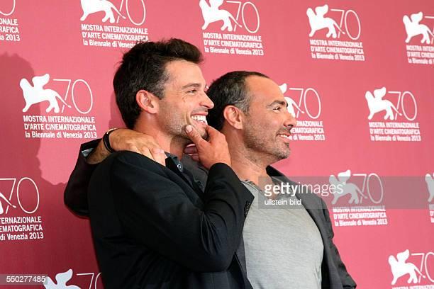 Schauspieler Tom Welling und Regisseur und Autor Peter Landesman während des Photocalls zum Film PARKLAND anlässlich der 70 Internationalen...
