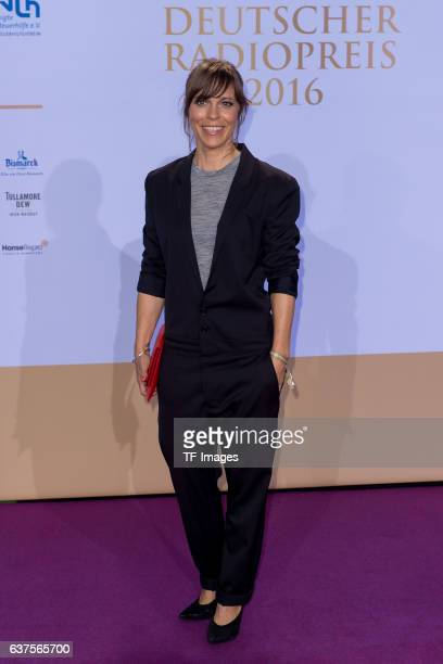 Schauspielerin Anneke Kim Sarnau attends the Deutscher Radiopreis 2016 on October 6 2016 in Hamburg Germany