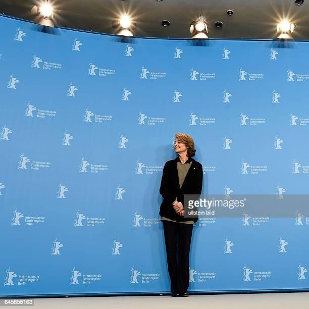 Schauspielerin Charlotte Rampling während des Photocalls zum Film 45 YEARS anlässlich der 65 Internationalen Filmfestspiele Berlin