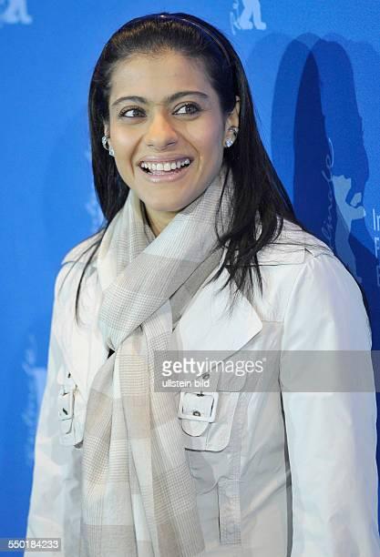 Schauspielerin Kajol Devgan anlässlich des Photocalls zum Film My Name Is Khan während der 60 Internationalen Filmfestspiele in Berlin