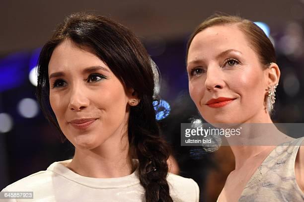 Schauspielerin Katharina Schüttler und Schauspielerin Sibel Kekilli während der Premiere des Eröffnungsfilms NOBODY WANTS THE NIGHT anlässlich der 65...