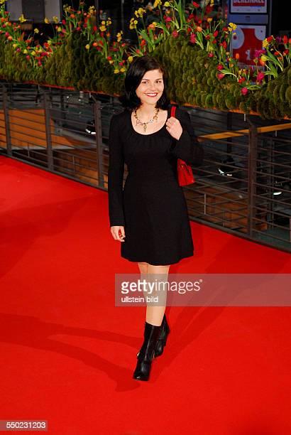 Schauspielerin Katharina Wackernagel während der Premiere des Film Shine A Light anlässlich der Eröffnung der 58 Internationalen Filmfestspiele in...