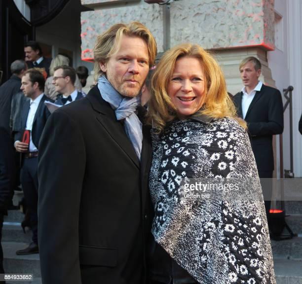 Schauspielerin Marion Kracht Ehemann Berthold Manns aufgenommen bei der Premiere vom Musical Chicago im Stage Theater des Westens in Berlin...
