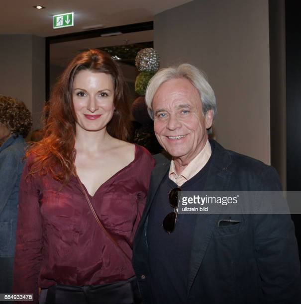 Schauspielerin Nadine Schori Ehemann Gerd Kämpfe aufgenommen auf der Premierenparty vom Theaterstück Entartete Kunst im Hotel am Steinplatz in Berlin...