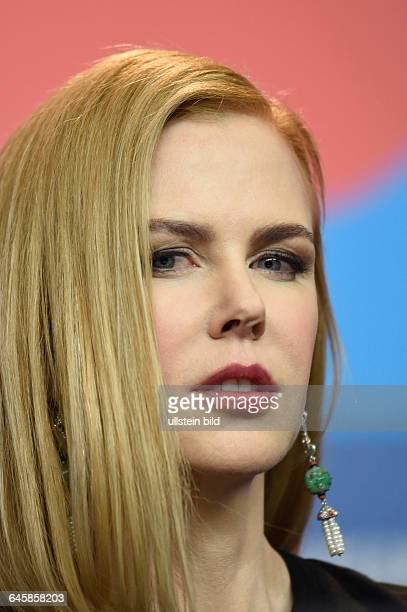 Schauspielerin Nicole Kidman während der Pressekonferenz zum Film QUEEN OF THE DESSERT anlässlich der 65 Internationalen Filmfestspiele Berlin
