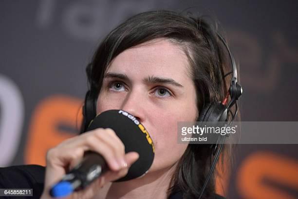 Schauspielerin Nora Tschirner beim RadioEins BerlinaleNighttalk am Rande der 65 Internationalen Filmfestspiele Berlin