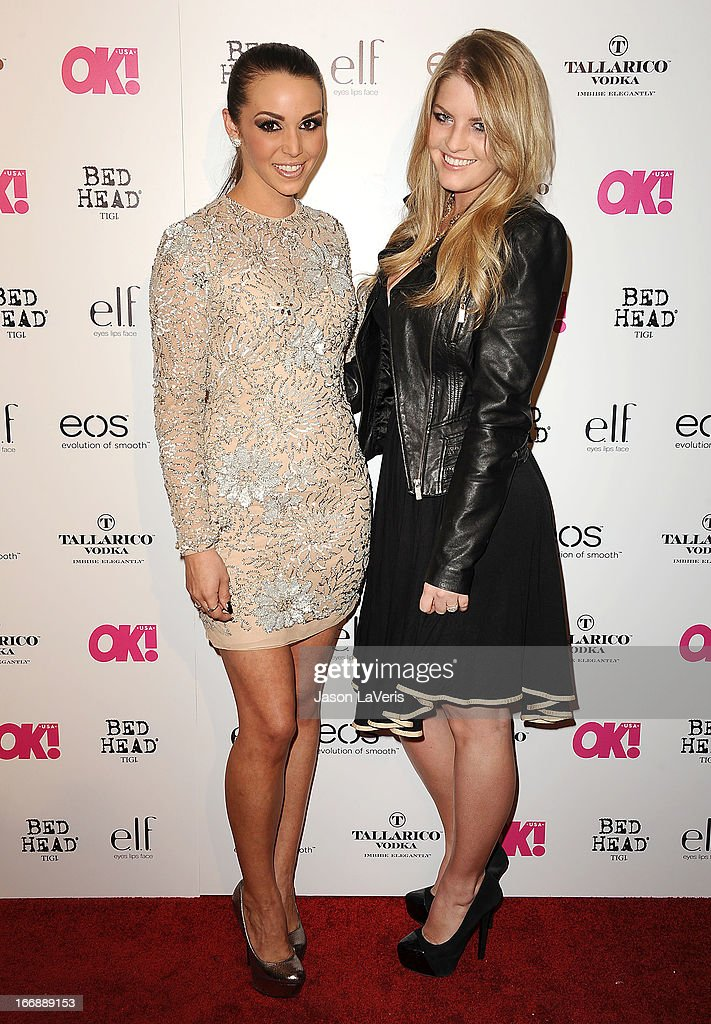 Scheana Marie and Pandora Vanderpump attend OK! Magazine's annual 'So Sexy' party at SkyBar at the Mondrian Los Angeles on April 17, 2013 in West Hollywood, California.