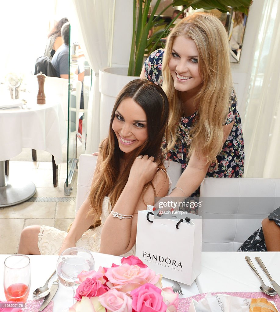 Scheana Marie and Pandora Vanderpump attend the PANDORA jewelry Mothers Day celebration with the Vanderpumps on May 6, 2013 in Beverly Hills, California.