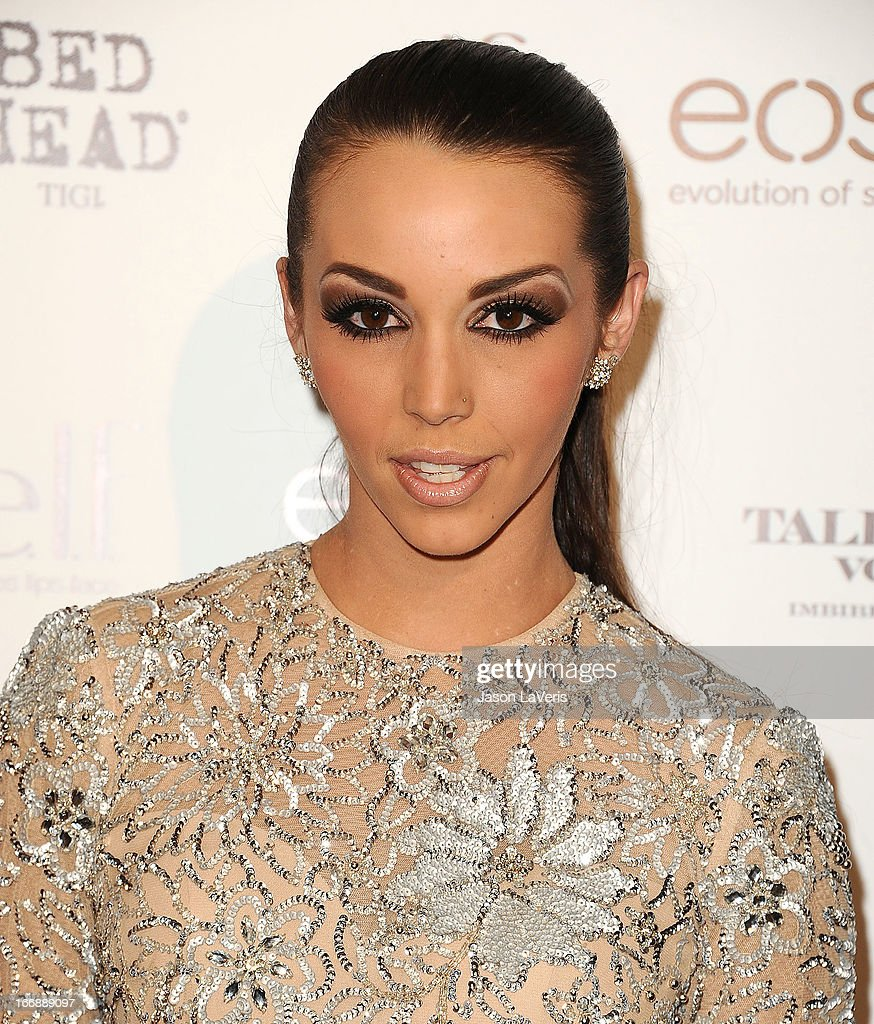 Scheana Marie attends OK! Magazine's annual 'So Sexy' party at SkyBar at the Mondrian Los Angeles on April 17, 2013 in West Hollywood, California.