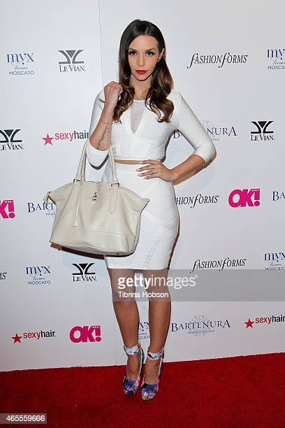 Scheana Marie attends OK Magazine's PreOscar event at The Argyle on February 19 2015 in Hollywood California