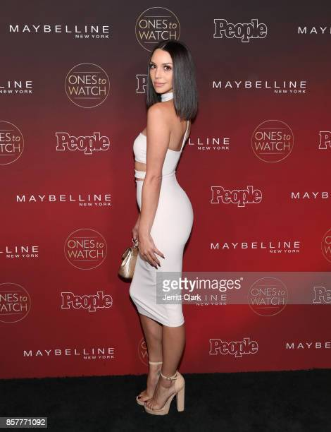 Scheana Marie attends People's 'Ones To Watch' at NeueHouse Hollywood on October 4 2017 in Los Angeles California