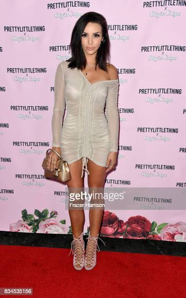 Scheana Marie attends PrettyLittleThing X Olivia Culpo Launch at Liaison Lounge on August 17 2017 in Los Angeles California