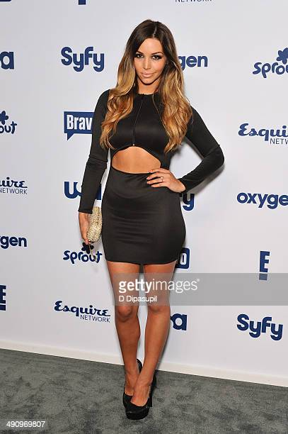 Scheana Marie attends the 2014 NBCUniversal Cable Entertainment Upfronts at The Jacob K Javits Convention Center on May 15 2014 in New York City