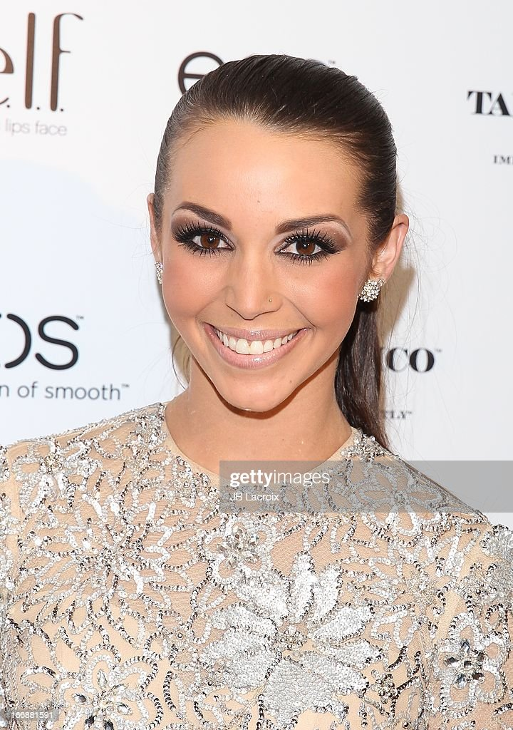 Scheana Marie attends the OK! Magazine's 'So Sexy' party at Mondrian Los Angeles on April 17, 2013 in West Hollywood, California.