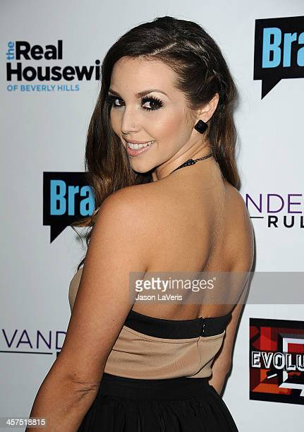 Scheana Marie attends the 'The Real Housewives of Beverly Hills' and 'Vanderpump Rules' premiere party at Boulevard3 on October 23 2013 in Hollywood...