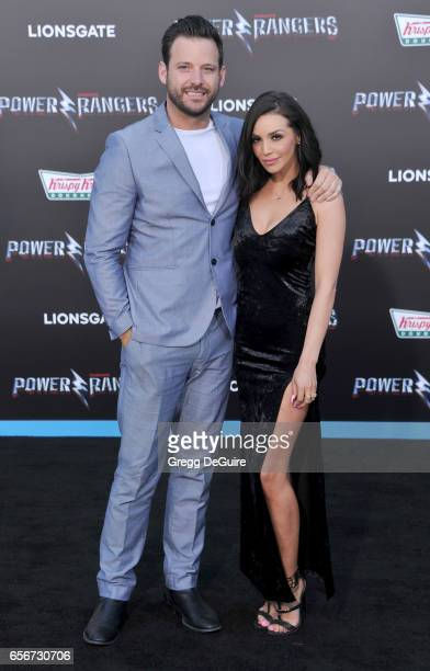 Scheana Marie Shay arrives at the premiere of Lionsgate's 'Power Rangers' at The Village Theatre on March 22 2017 in Westwood California