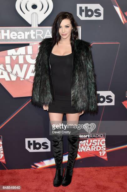 Scheana Marie Shay attends the 2017 iHeartRadio Music Awards Arrivals at The Forum on March 5 2017 in Inglewood California