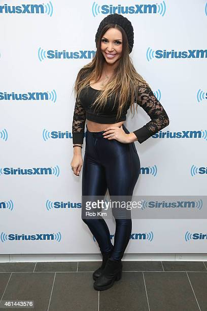 Scheana Marie visits at SiriusXM Studios on January 12 2015 in New York City