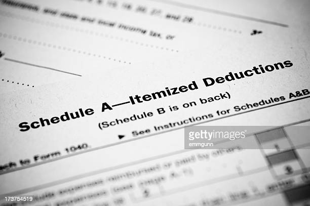 Schedule A Income Tax Form